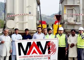 MAMQ Complete Challenging Transportation of Transformers in Pakistan